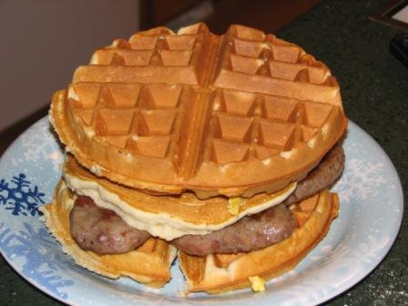 Waffle sandwich 4