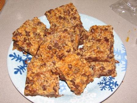 Toffee bars 6