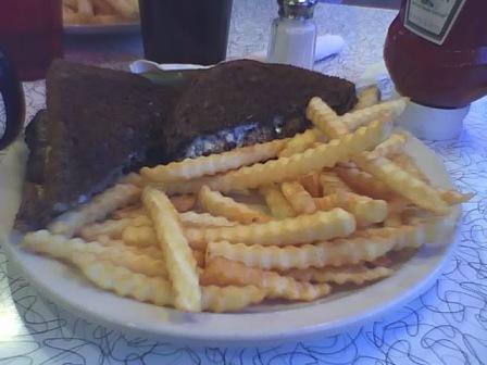 371 Diner burger