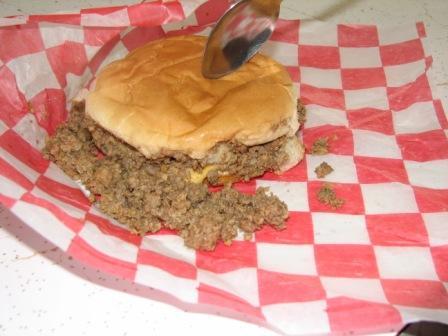 Tender maid burger