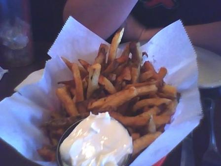 Annies parlour fries