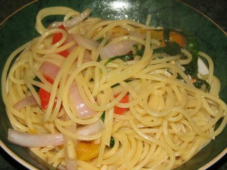 IC1 spinach pasta