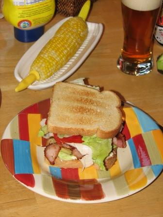 IC5 blt with corn