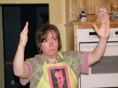 IC5 me as Evita