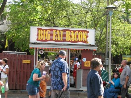Fair big fat bacon