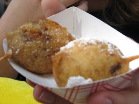 Fair deep fried reeses