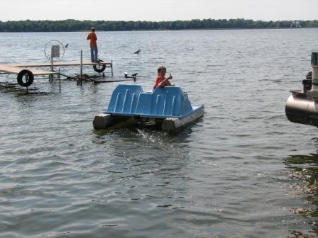Srr paddleboat