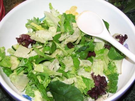 Smoked salmon lettuce