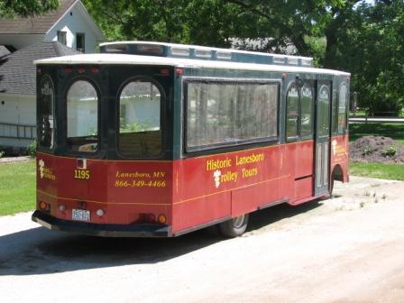 Lanesboro trolley tour