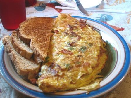 Richville rockin horse cafe western omelette