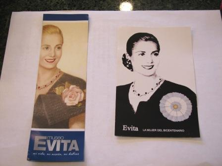 Evita bookmarks