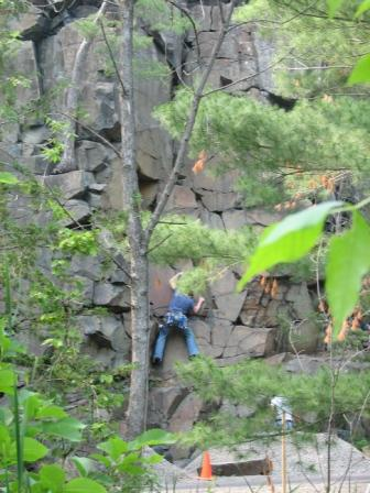 Taylors falls interstate sp rock climbing