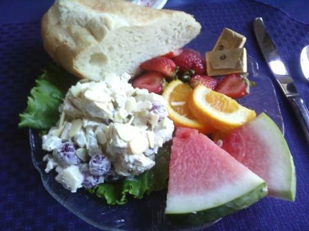 Naniboujou chx salad
