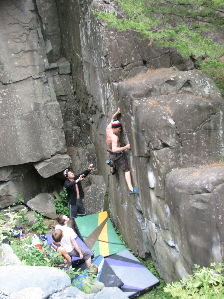 ISP climbers