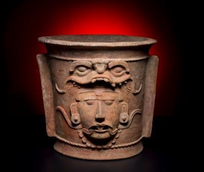 Maya incensario