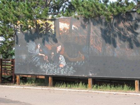 Hinckley_fire_mural