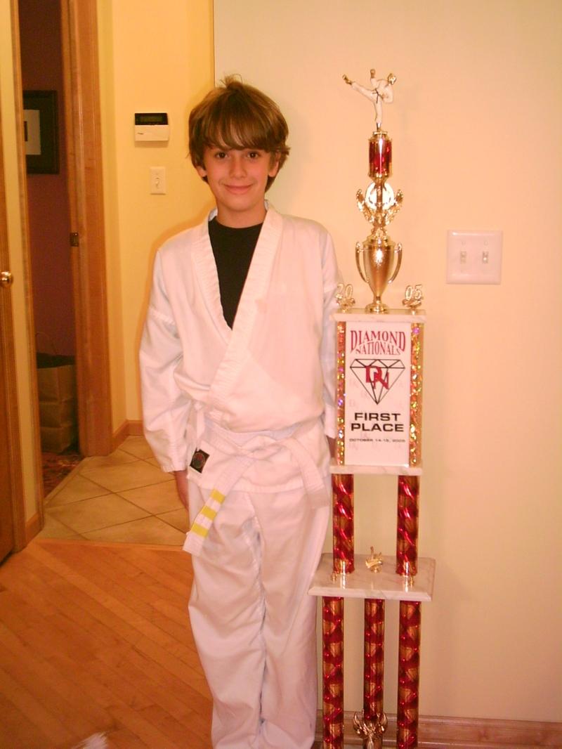 Michael_karate_2